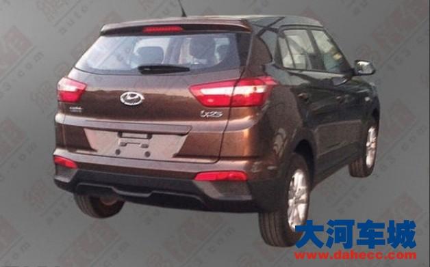 ix25在今年北京车展首发;手动挡车型与自动挡车型