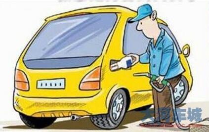 小型汽车油箱结构图